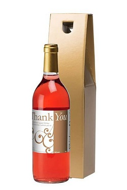 Personalised Rose Wine, Swirls Than...