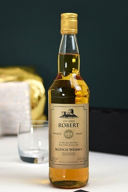 Personalised Single Malt Whisky, Ge...