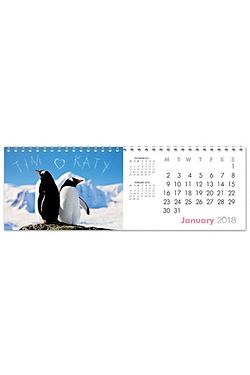 Me & You Desktop Calendar