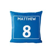 Personalised Sports Cushion Cover