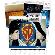 Personalised Best Dad Calendar