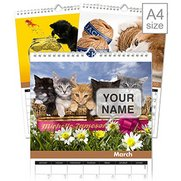 Personalised Cats Calendar