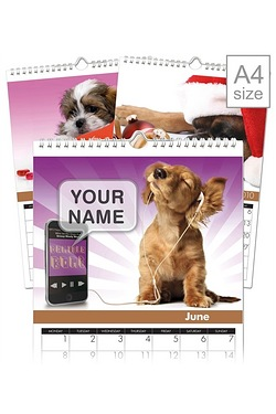 Personalised Dogs Calendar