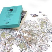 Personalised Landranger Map Jigsaw ...