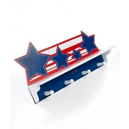 Personalised Star Shelf & Pegs