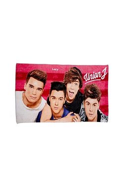 Personalised Kids Towels - Union J