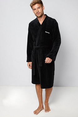Personalised Men's Supersoft Bath Robe