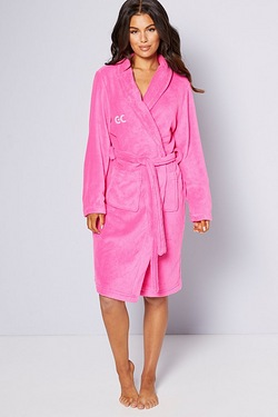 Personalised Ladies Supersoft Robe