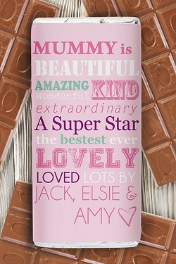 Personalised She is…Chocolate Bar