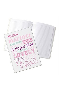 Personalised She is…Hardback Notebook