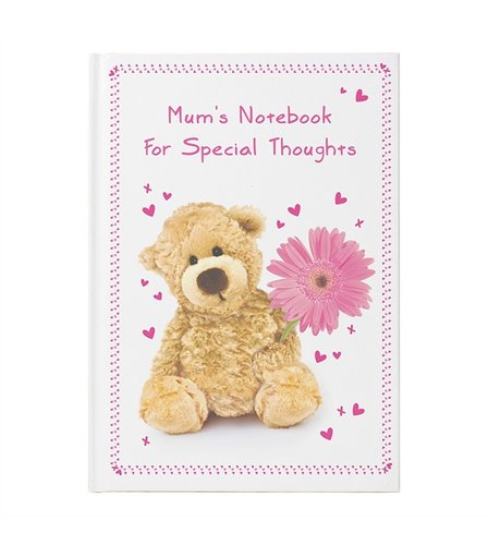 Image for Personalised Teddy Flower Hardback Notebook from ace