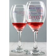 Personalised She is…Wine Glass