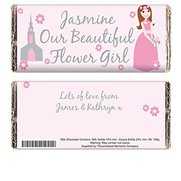 Personalised Fabulous Flowergirl Ch...