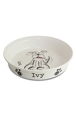 Personalised Scrabble Dog Bowl