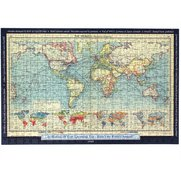 Personalised World Map Jigsaw Puzzle