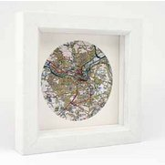 Personalised Map Circle