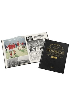Personalised World Cup Book - Luxur...