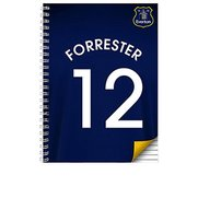 Everton Personalised Notebook