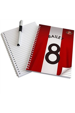 Sunderland Personalised Notebook