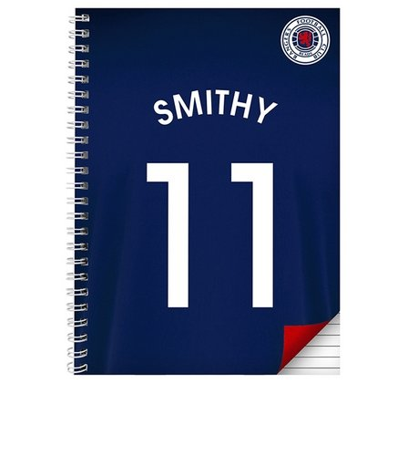 Image for Rangers Personalised Notebook from ace