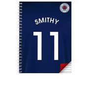 Rangers Personalised Notebook