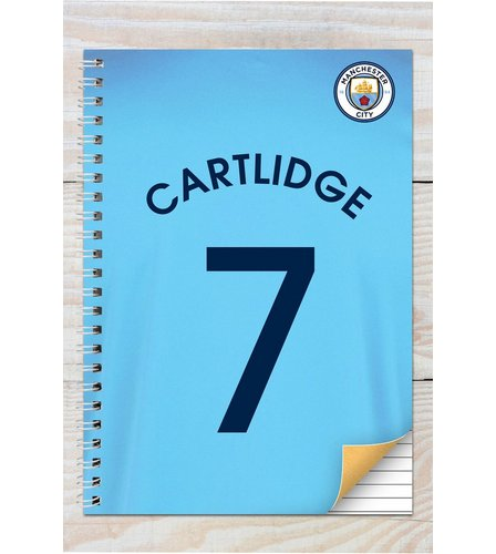 Image for Manchester City Personalised Notebook from ace