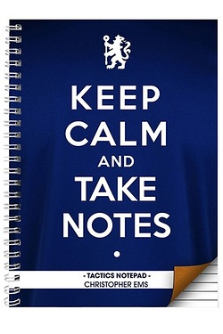 Chelsea Keep Calm Personalised Note...