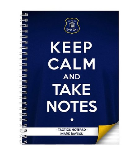 Image for Everton Keep Calm Personalised Notebook from ace