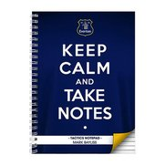 Everton Keep Calm Personalised Note...