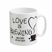 Love Is Brewing Mug