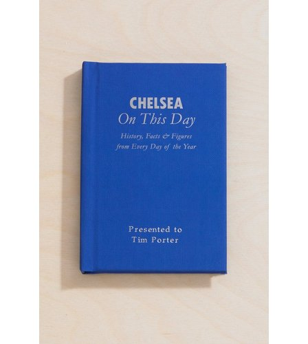 Image for Personalised Chelsea On This Day Book from ace