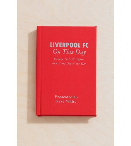 Image for Personalised Liverpool On This Day Book from ace