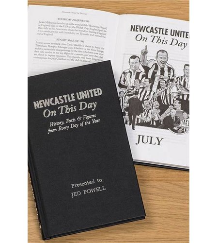 Image for Personalised Newcastle United On This Day Book from ace