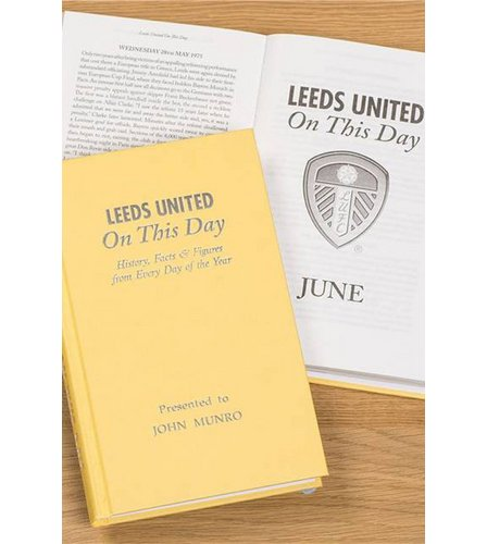 Image for Personalised Leeds On This Day Book from ace