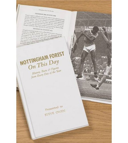 Image for Personalised Nottingham Forest On This Day Book from ace