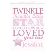 Twinkle Girls Card
