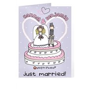 Bang On The Door Just Married Card
