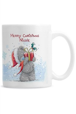 Personalised - Tatty Teddy Xmas Mug