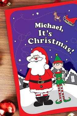 Personalised - Large Christmas Book...