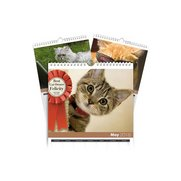 Personalised  Cats A5 Calendar