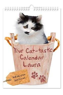 Personalised Your Cat-tastic A4 Wal...