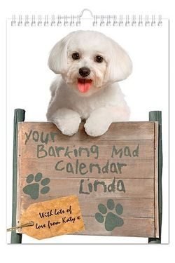Personalised Your Barking Mad A4 Wa...
