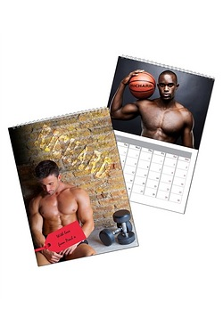 Personalised Hot Hunks Calendar