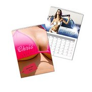 Personalised Hot Chicks Calendar