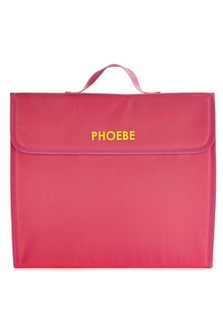 Personalised Document Bag Set