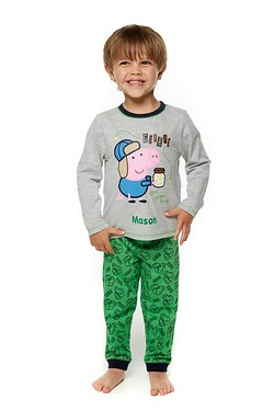 Boys' Personalised George Pig Pyjamas