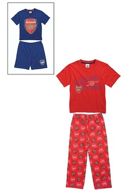 Boys' Personalised Pack Of 2 Arsena...