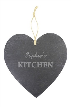 Personalised Large Kitchen Slate He...