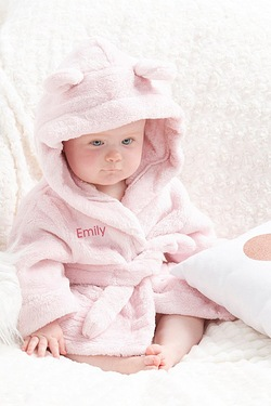 Personalised Baby Robe