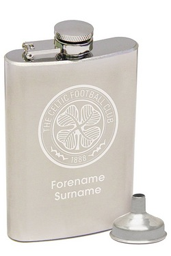 Personalised Celtic Hip Flask